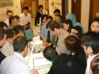 香港大学での講習会の様子です。