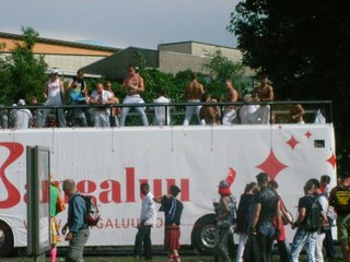 Berlinでゲイのパレードに遭遇しました。